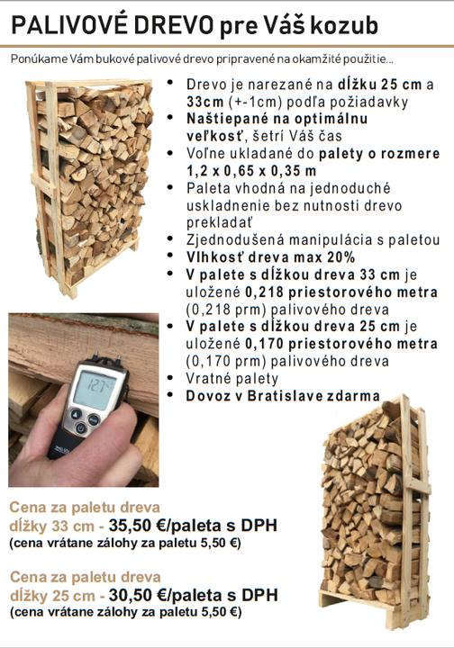 Kvalitné a suché palivové drevo - Obrázok č. 1