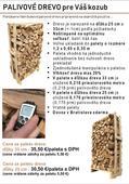 Kvalitné a suché palivové drevo,