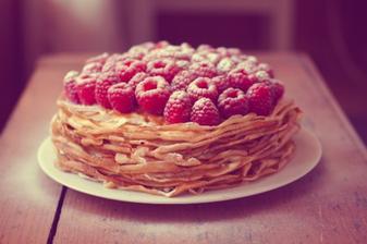 Palačinkový dort