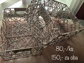 Vypletený košík (vypletenina z papíru),