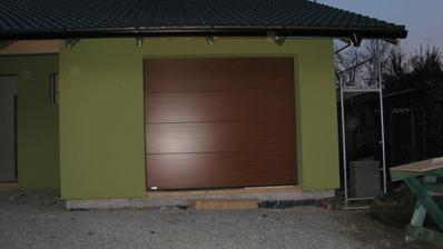 a dnes nová vrata