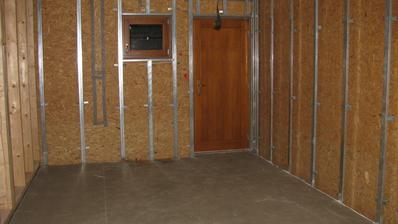 podlaha garáž