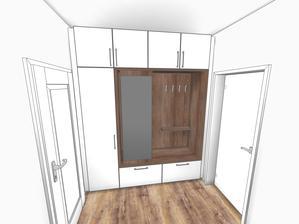 Díky @verunky za návrh šatní skříně do chodby .....a teď jen vybrat tu, která to bude ?? co vy na to ??