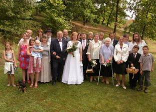 rodina nevěsty