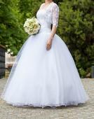 15 - FREDA - Romantické svadobné šaty, 40