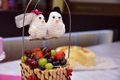 Háčkované vtáčiky na tortu,
