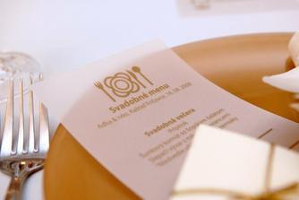 menu lístok