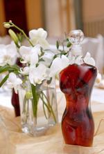 fľaše na svadobnú pálenku - torzá evi a adama, velice obľúbené;)