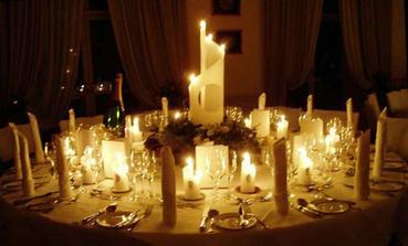 a vela vela romantickych sviecok