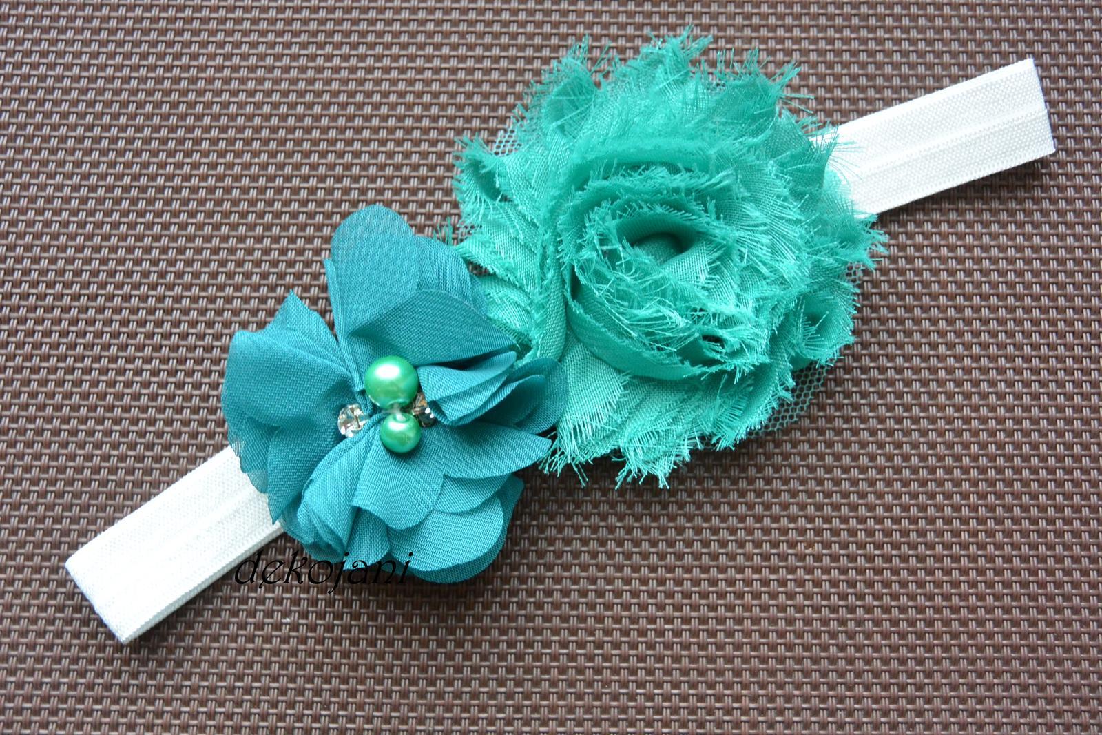 Čelenky, květiny do vlasů, náramky, obojek pro pejska... - Obrázek č. 70