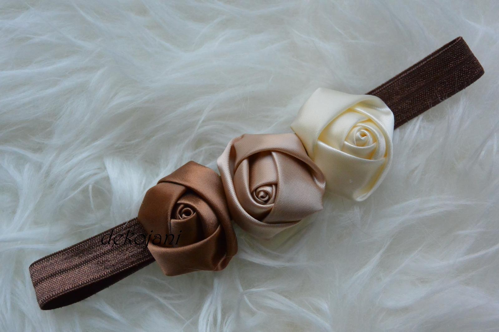 Čelenky, květiny do vlasů, náramky, obojek pro pejska... - Obrázek č. 91