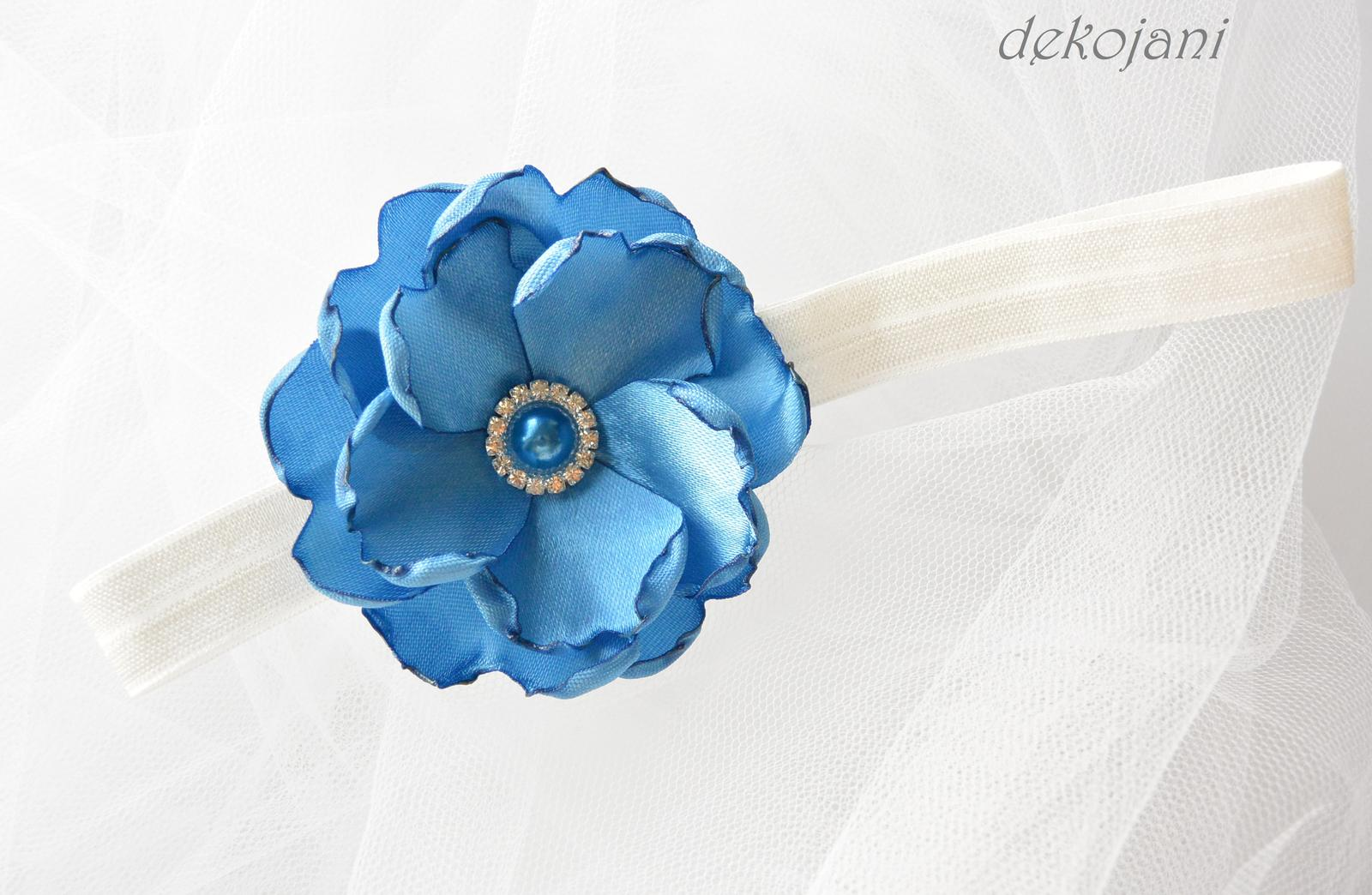 Čelenky, květiny do vlasů, náramky, obojek pro pejska... - Obrázek č. 92