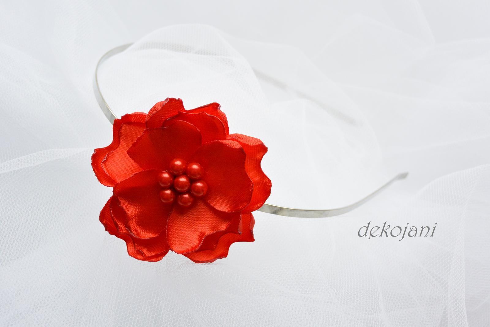 Čelenky, květiny do vlasů, náramky, obojek pro pejska... - Obrázek č. 100
