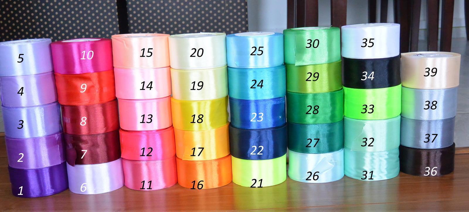 Podvazky- ušiji ve všech barvách! - Stuhy na kytky...39 barev na přání. :)
