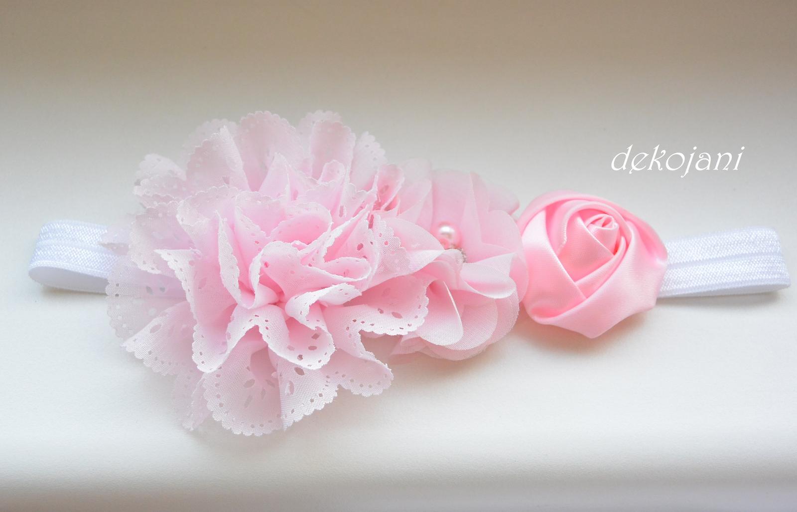 Čelenky, květiny do vlasů, náramky, obojek pro pejska... - Obrázek č. 51