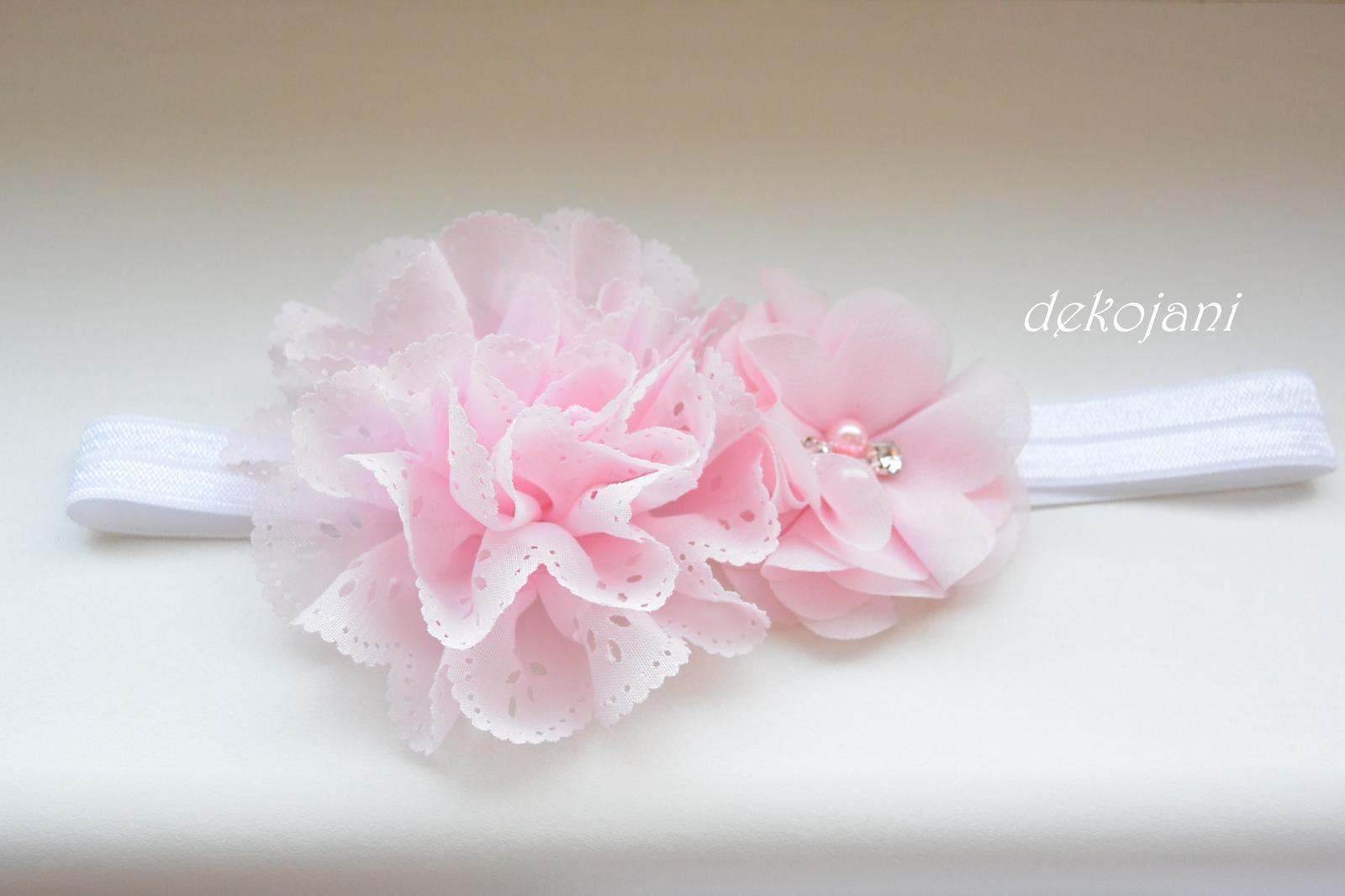 Čelenky, květiny do vlasů, náramky, obojek pro pejska... - Obrázek č. 52