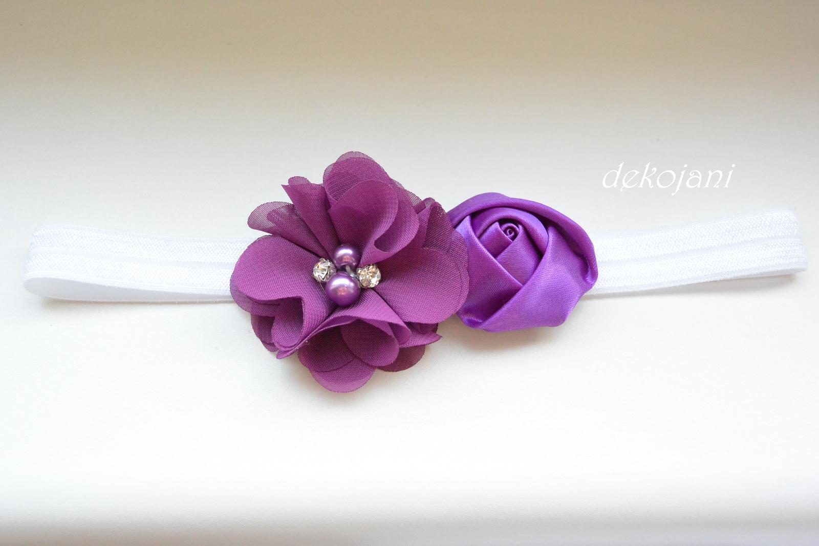 Čelenky, květiny do vlasů, náramky, obojek pro pejska... - Obrázek č. 79