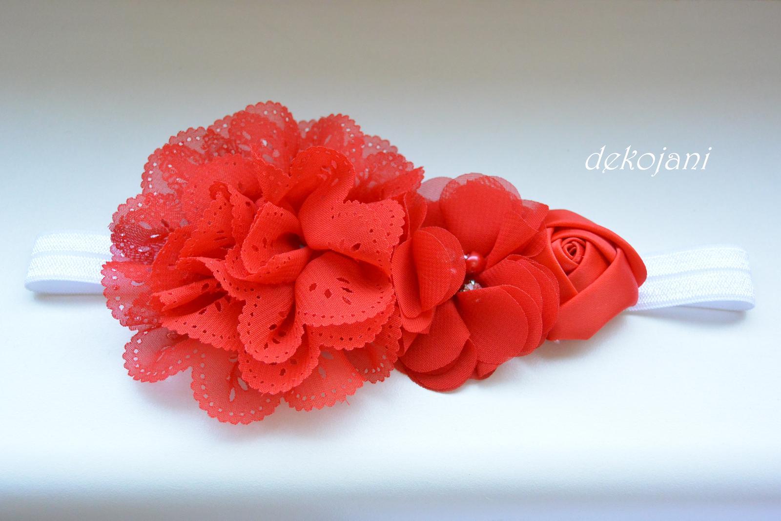 Čelenky, květiny do vlasů, náramky, obojek pro pejska... - Obrázek č. 60