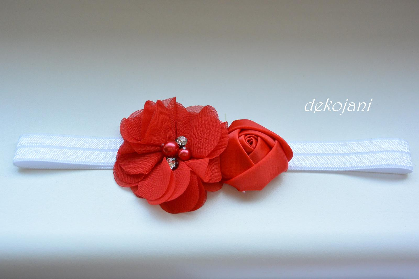 Čelenky, květiny do vlasů, náramky, obojek pro pejska... - Obrázek č. 61