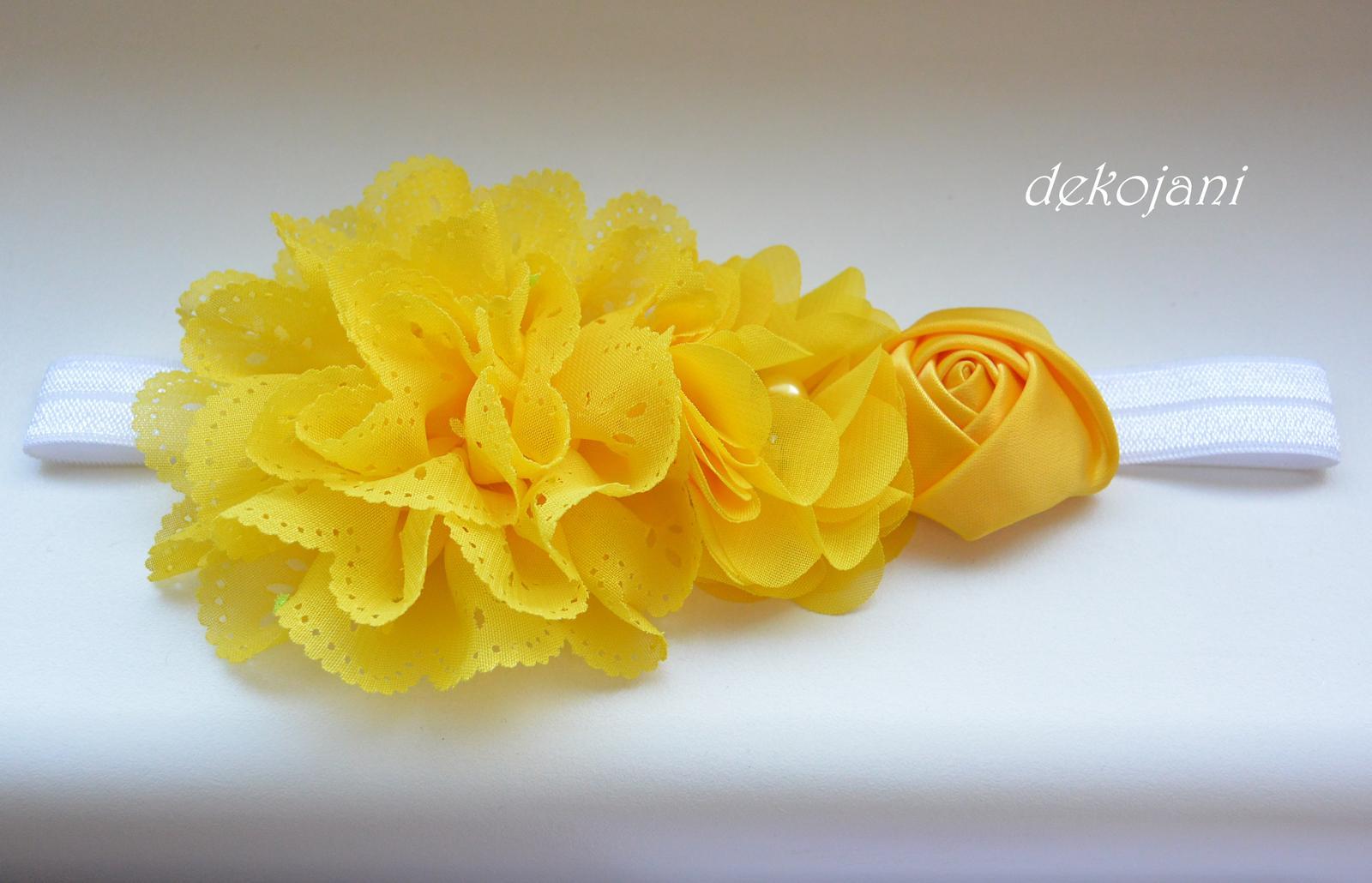 Čelenky, květiny do vlasů, náramky, obojek pro pejska... - Obrázek č. 50