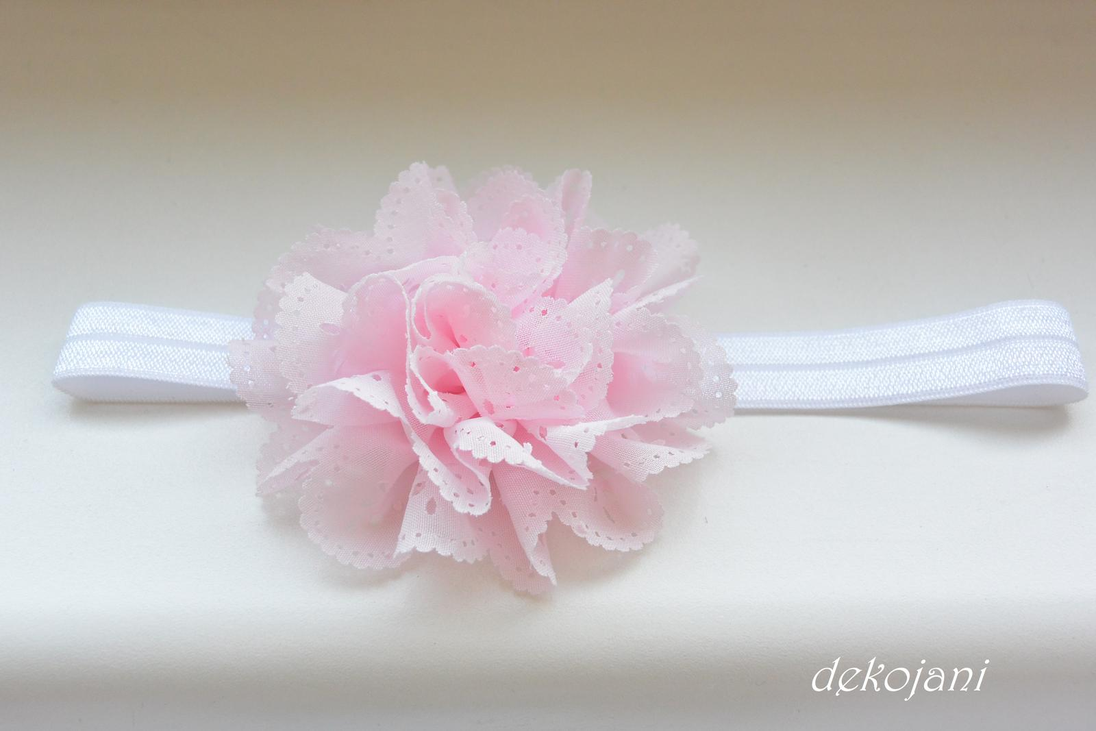 Čelenky, květiny do vlasů, náramky, obojek pro pejska... - Obrázek č. 34