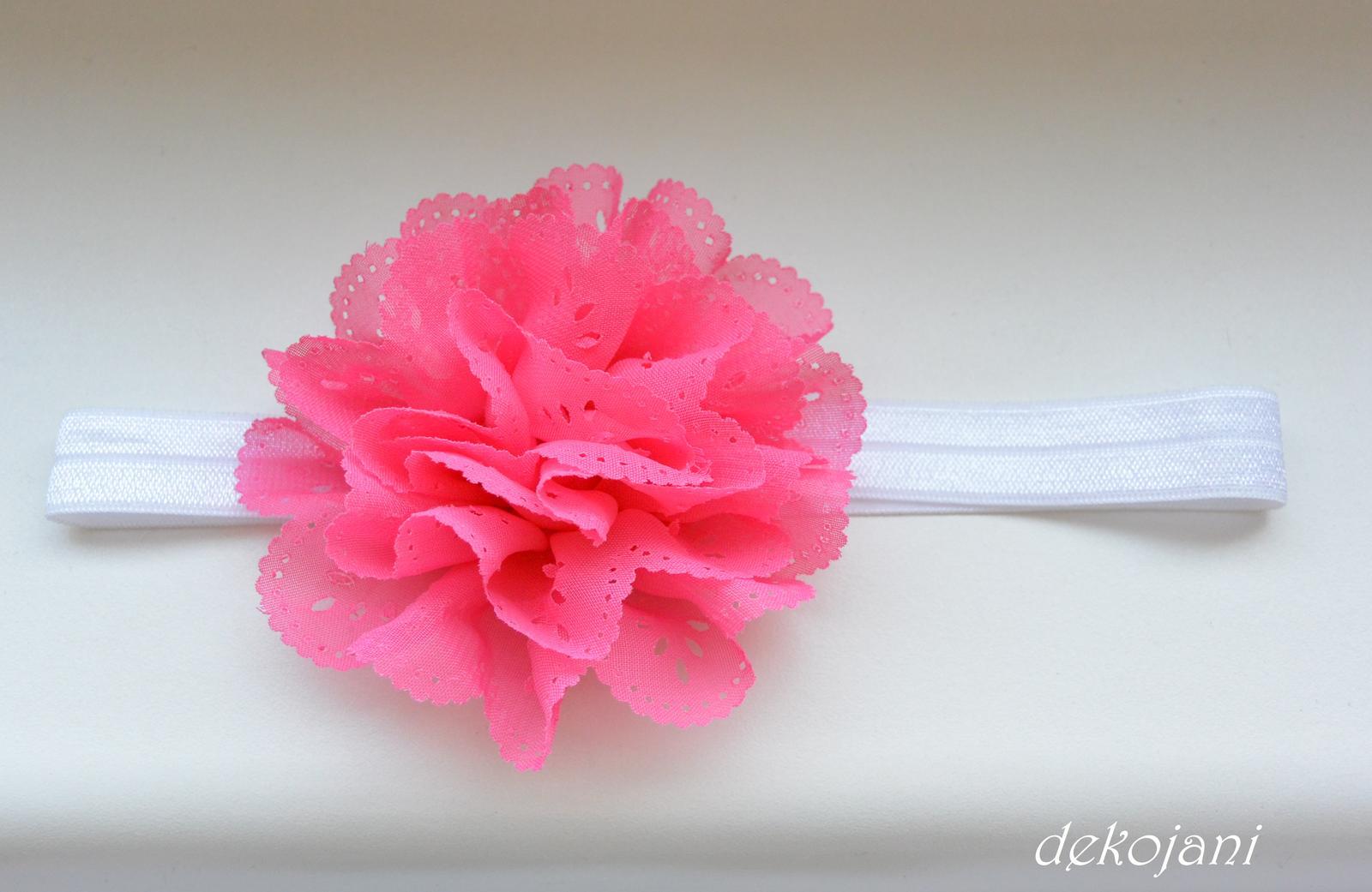 Čelenky, květiny do vlasů, náramky, obojek pro pejska... - Obrázek č. 53