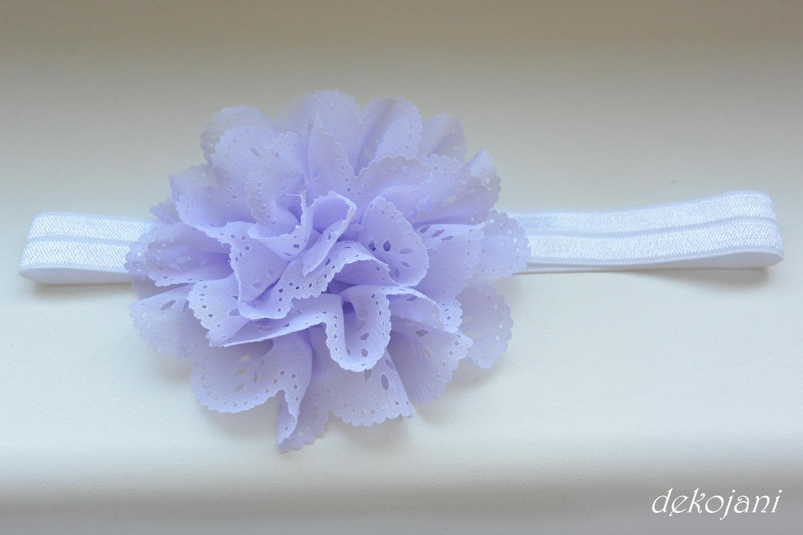 Čelenky, květiny do vlasů, náramky, obojek pro pejska... - Obrázek č. 77