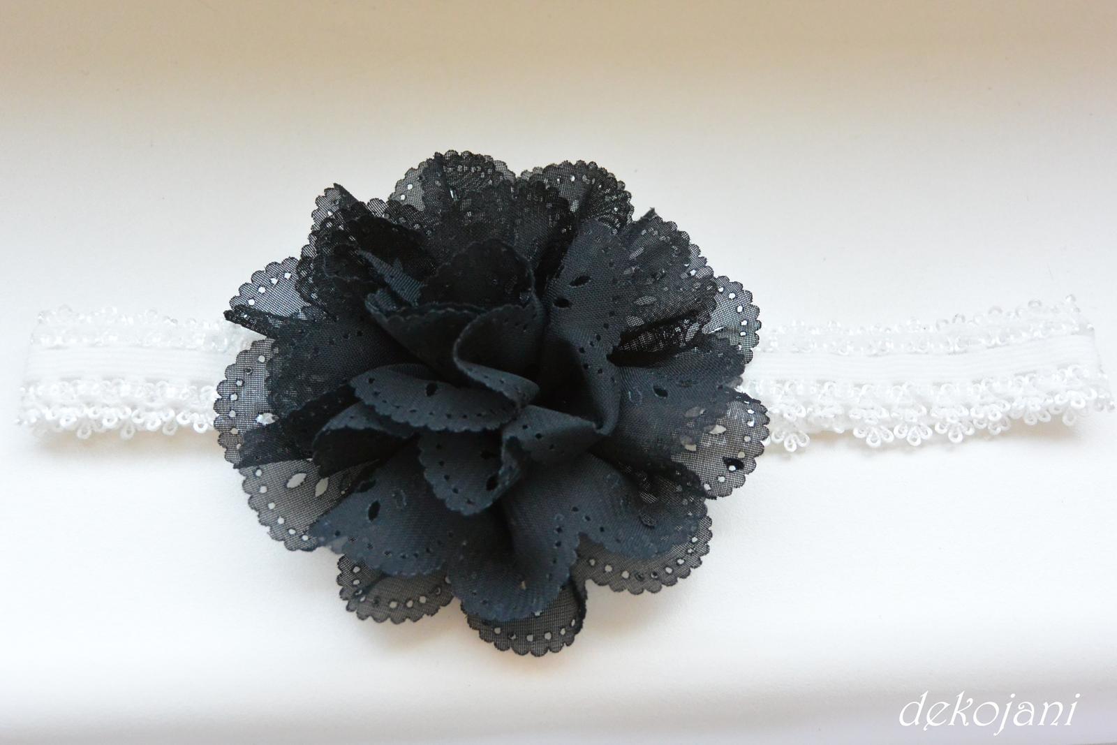 Čelenky, květiny do vlasů, náramky, obojek pro pejska... - Obrázek č. 66