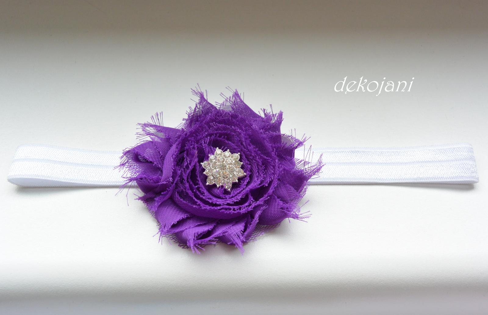 Čelenky, květiny do vlasů, náramky, obojek pro pejska... - Obrázek č. 12