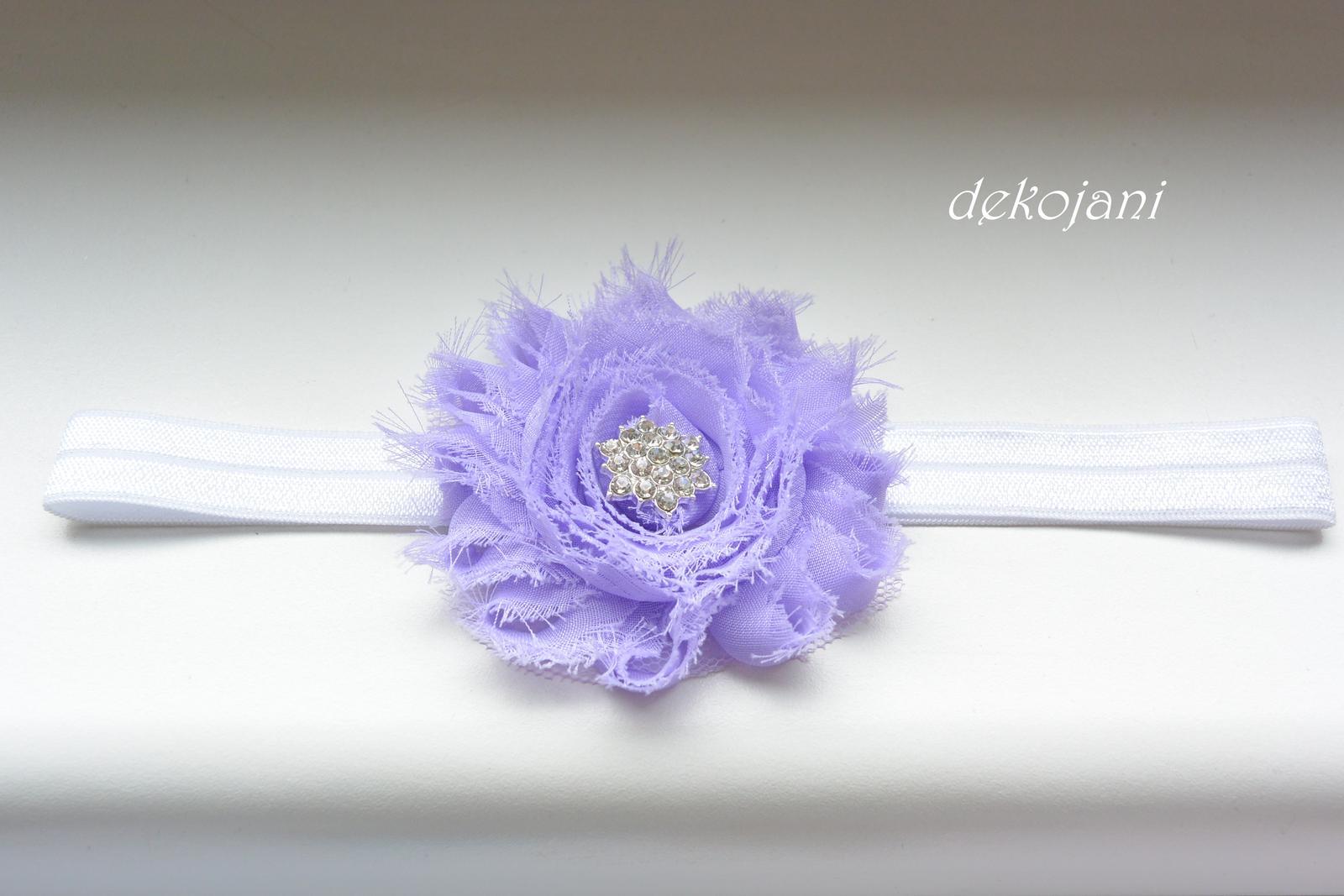 Čelenky, květiny do vlasů, náramky, obojek pro pejska... - Obrázek č. 11