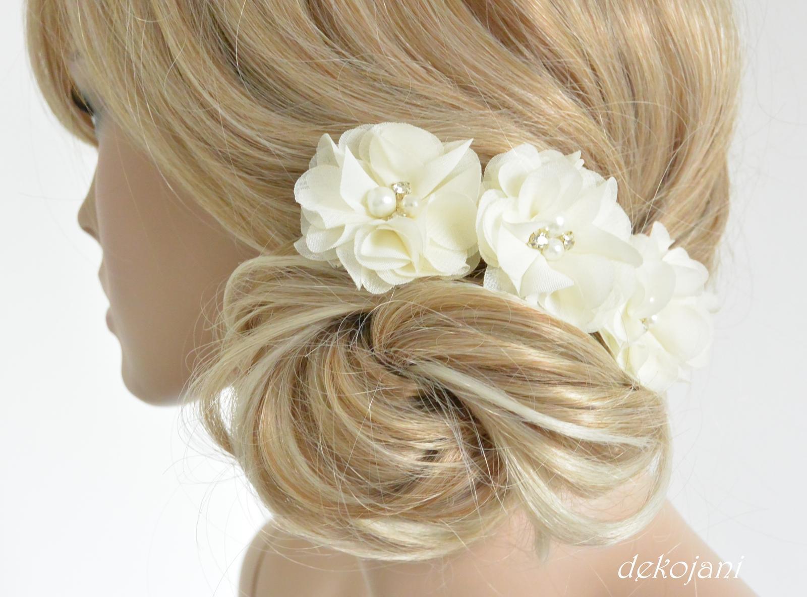 Čelenky, květiny do vlasů, náramky, obojek pro pejska... - Obrázek č. 6