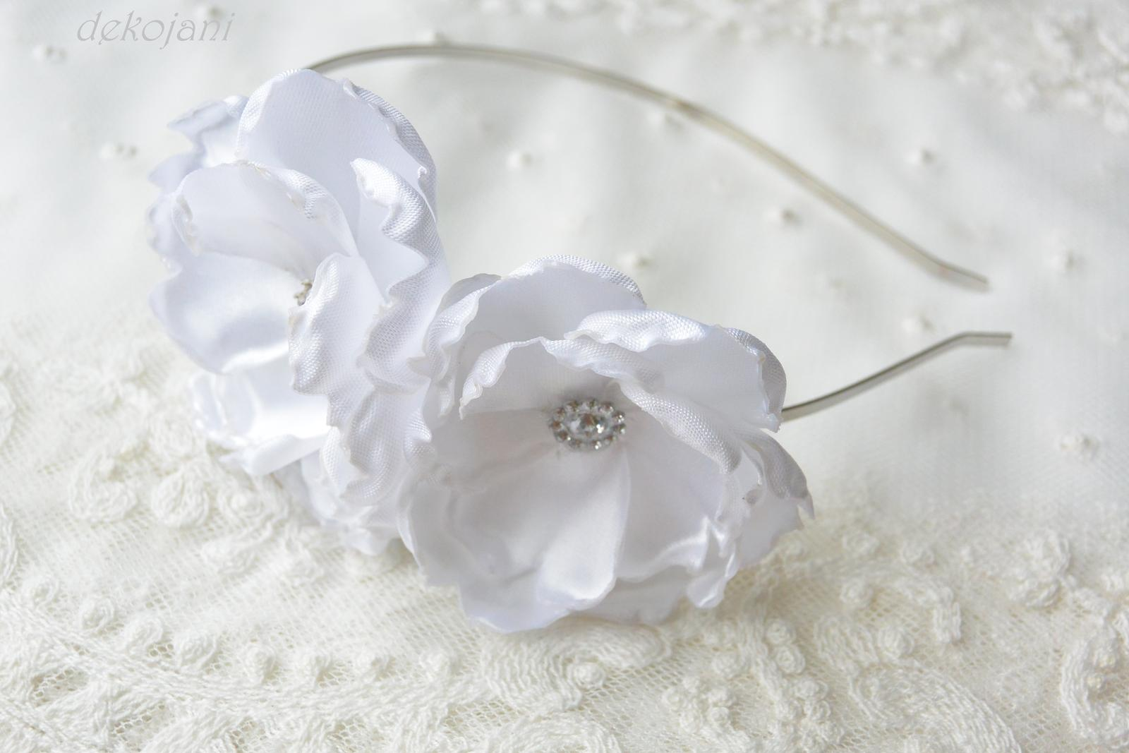 Čelenky, květiny do vlasů, náramky, obojek pro pejska... - Obrázek č. 2