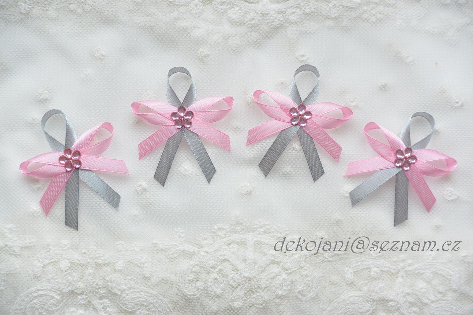 Svatební dekorace vše v barvách na přání! - Obrázek č. 2