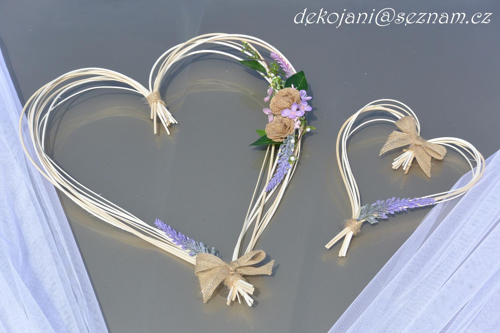 Svatební dekorace vše v barvách na přání! - Obrázek č. 61
