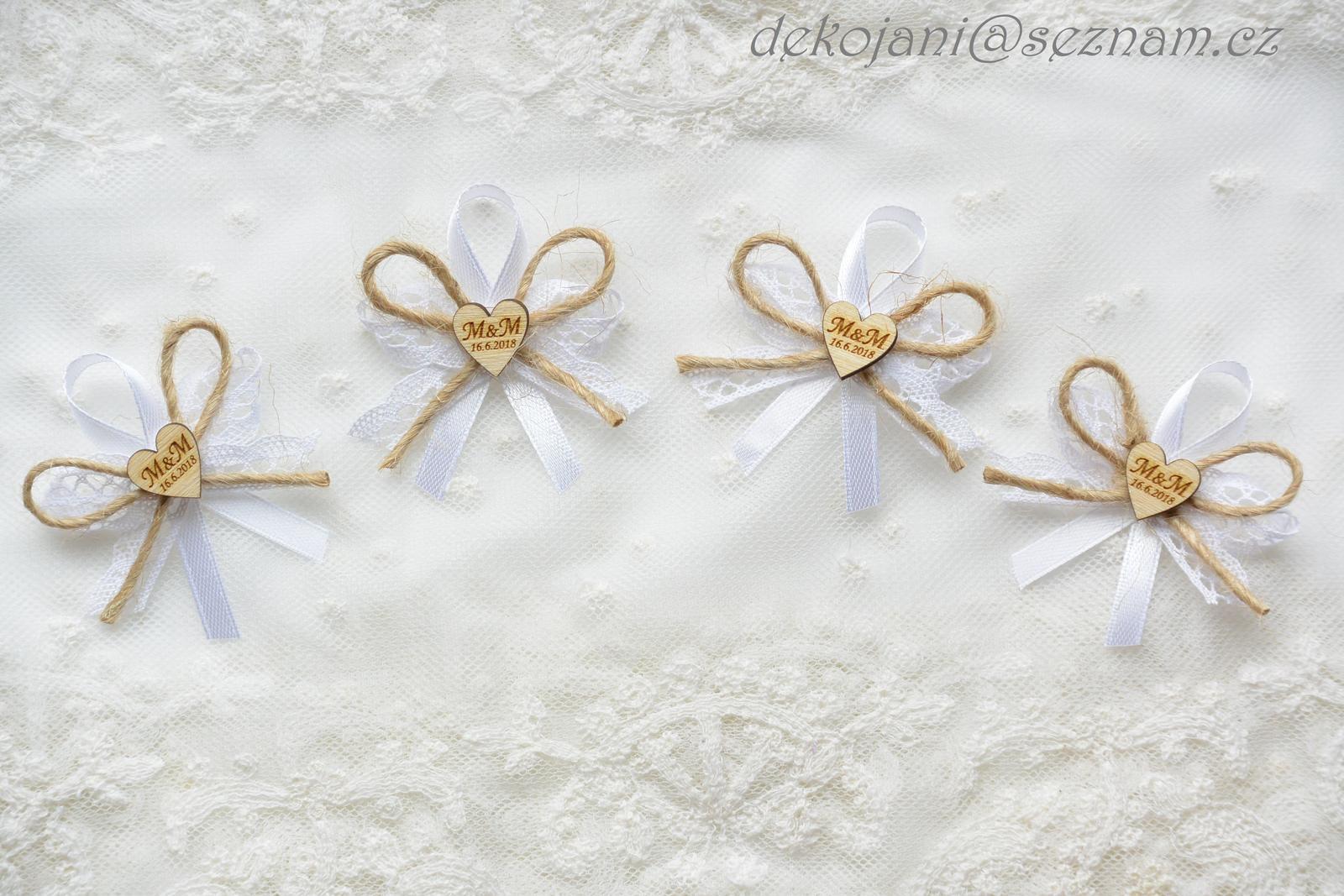 Svatební dekorace vše v barvách na přání! - Obrázek č. 65