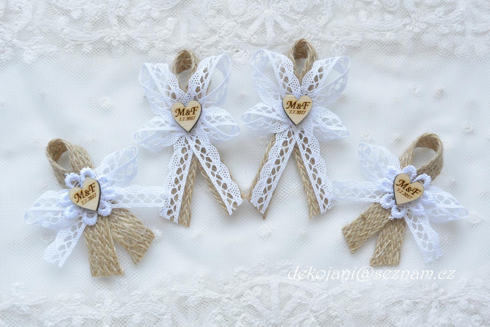 Svatební dekorace vše v barvách na přání! - Obrázek č. 74
