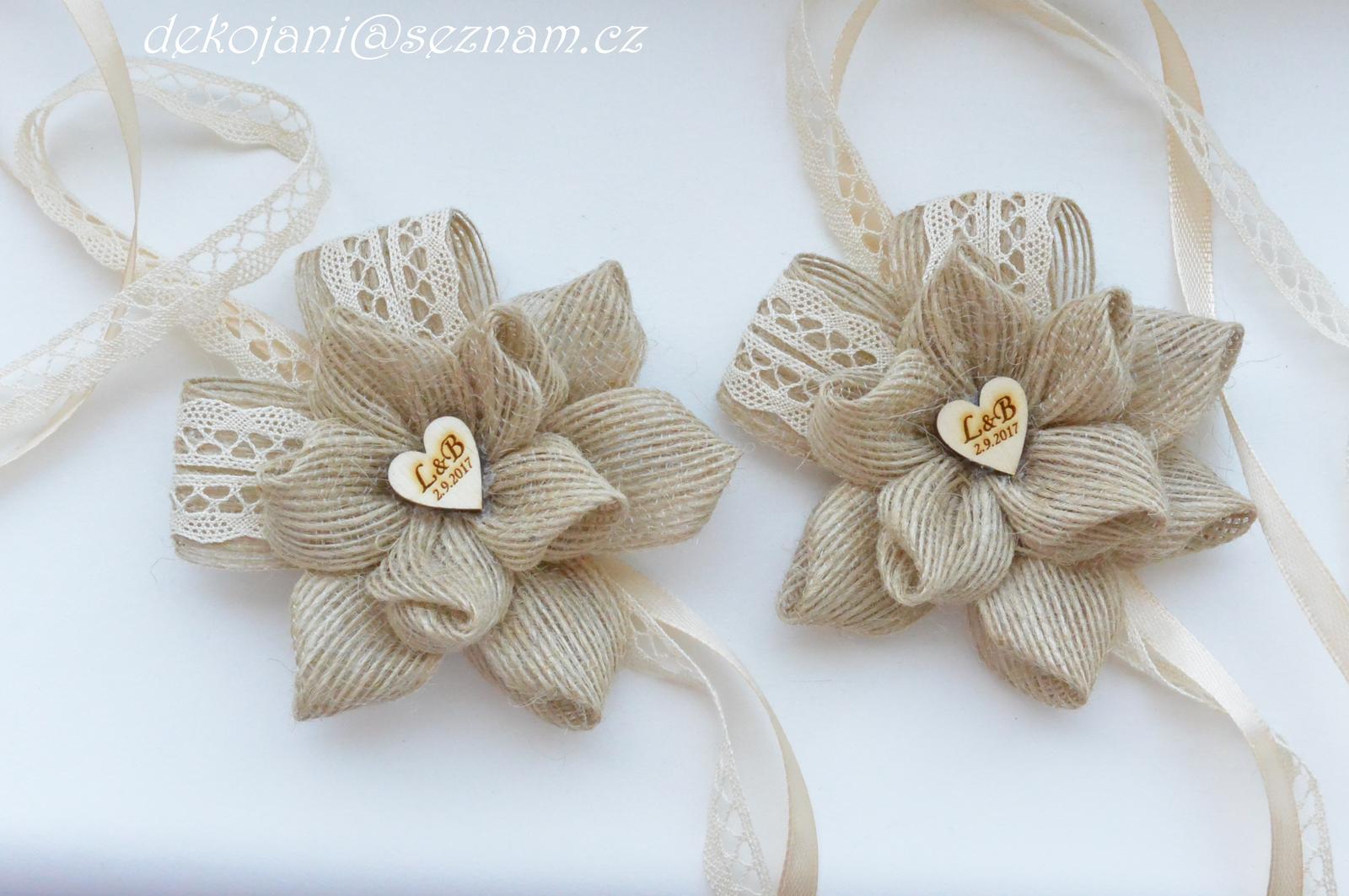 Čelenky, květiny do vlasů, náramky, obojek pro pejska... - Obrázek č. 451