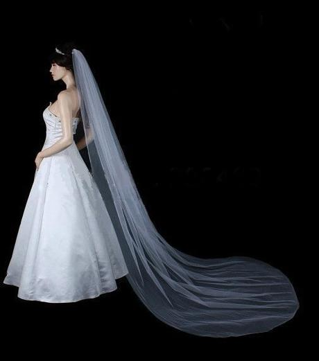 Svatební závoj tylový  - Obrázek č. 3