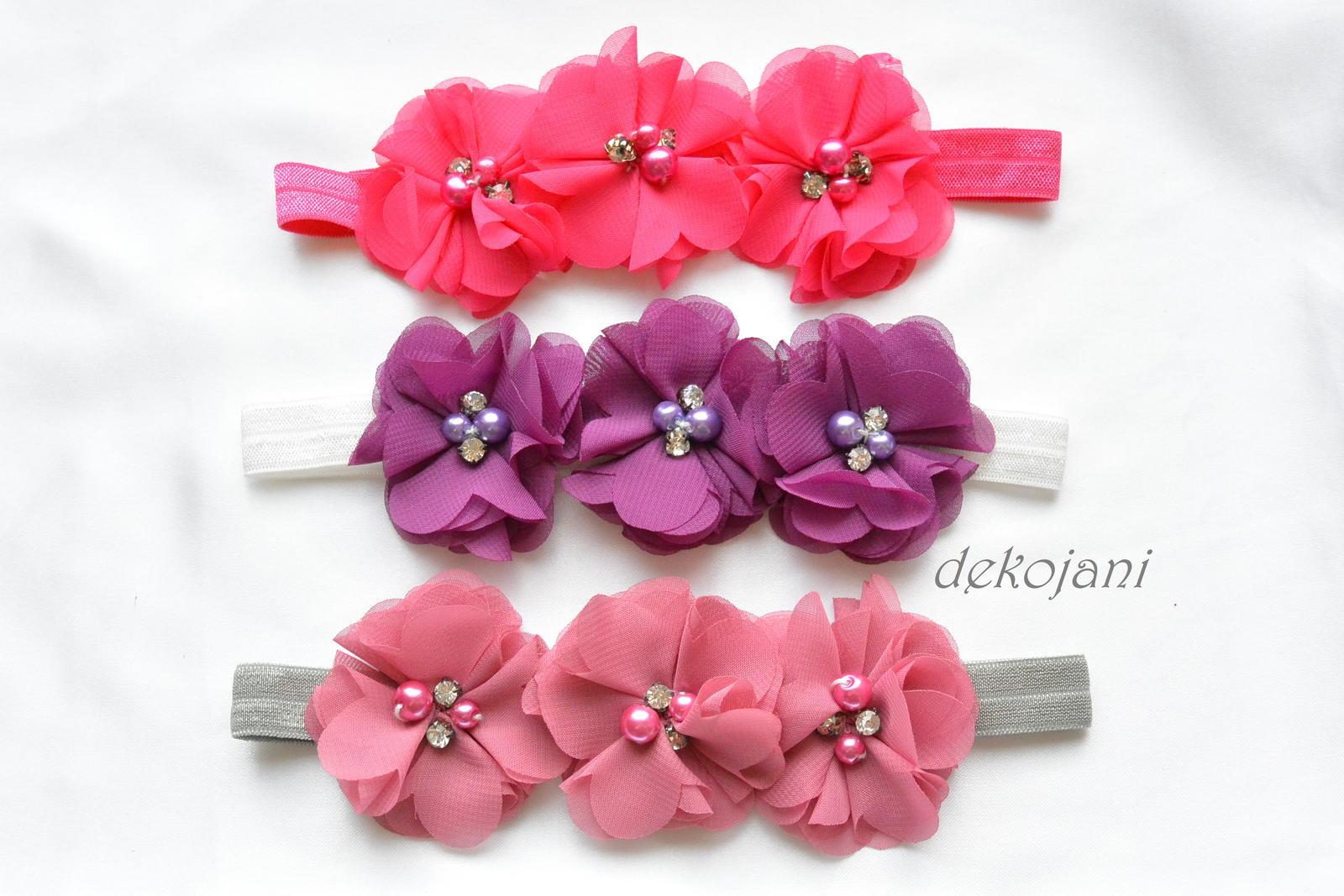 Růžová čelenka - Obrázek č. 1