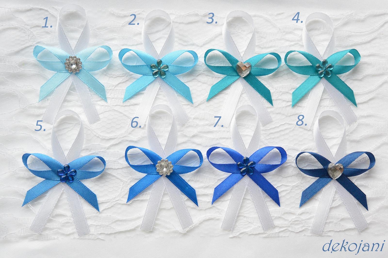 Modré mašličky - Obrázek č. 1