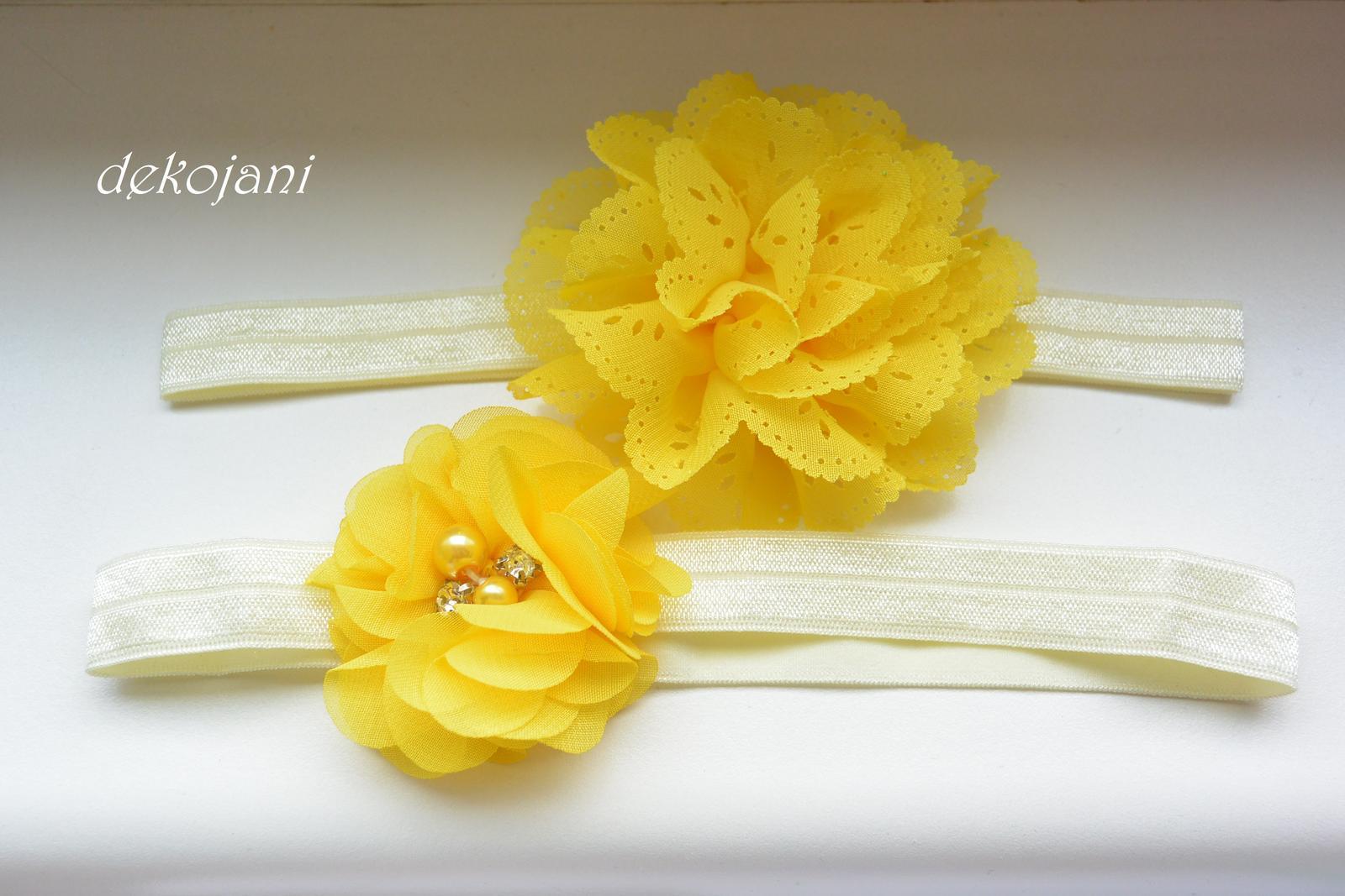 Květinová čelenka - Obrázek č. 1