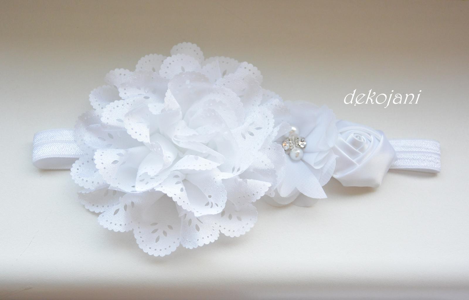 Štrasová svatební čelenka - Obrázek č. 2