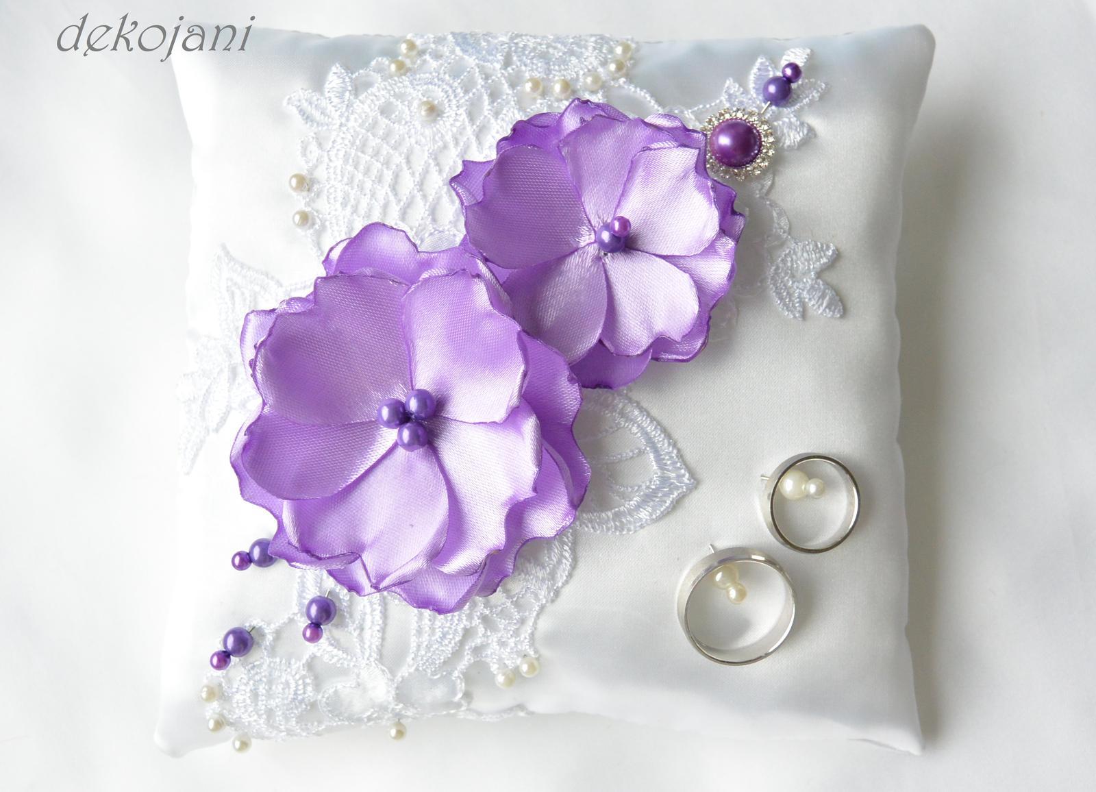 Svatební polštářek - Obrázek č. 1