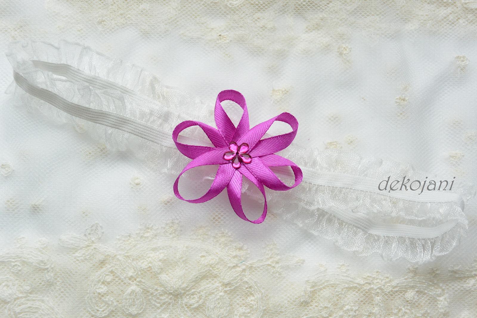 Květinový náramek - Obrázek č. 2