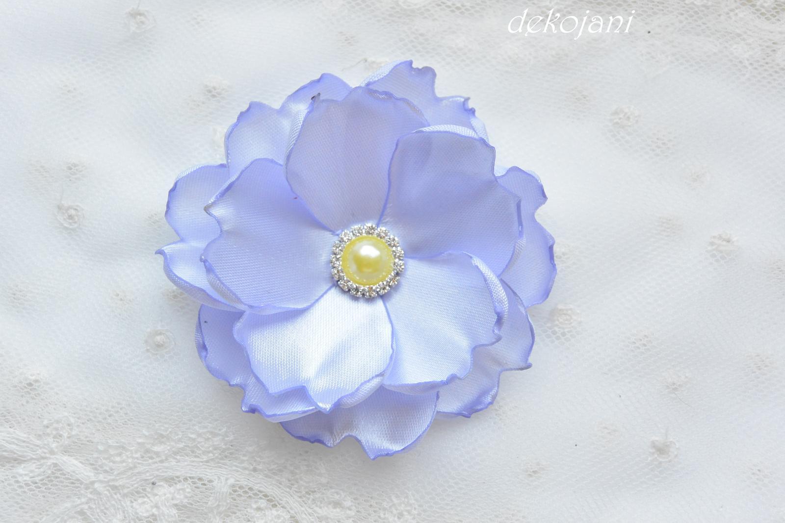 Květinová čelenka- barva na přání - Obrázek č. 3