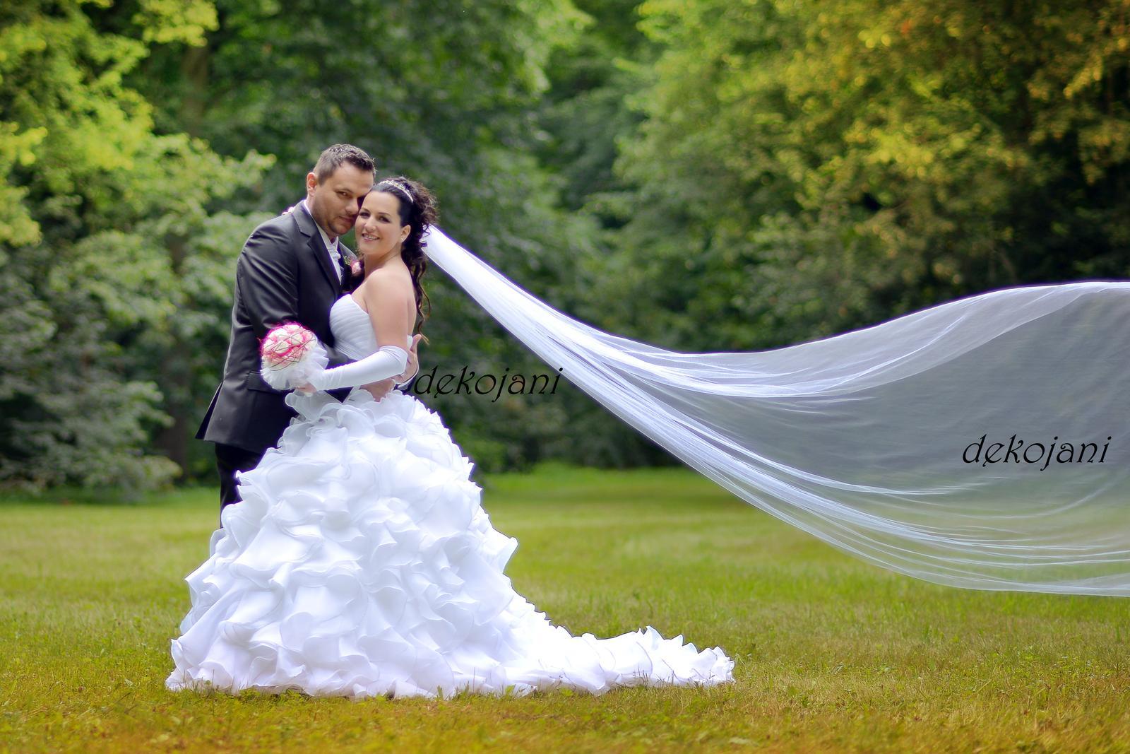 Krajkový svatební polštářek - Obrázek č. 3