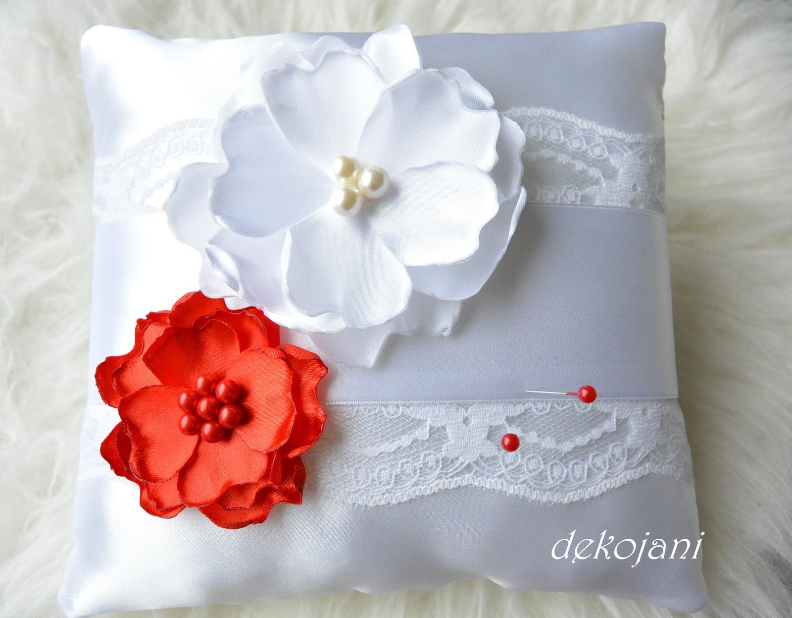 Svatební polštářek - Obrázek č. 3