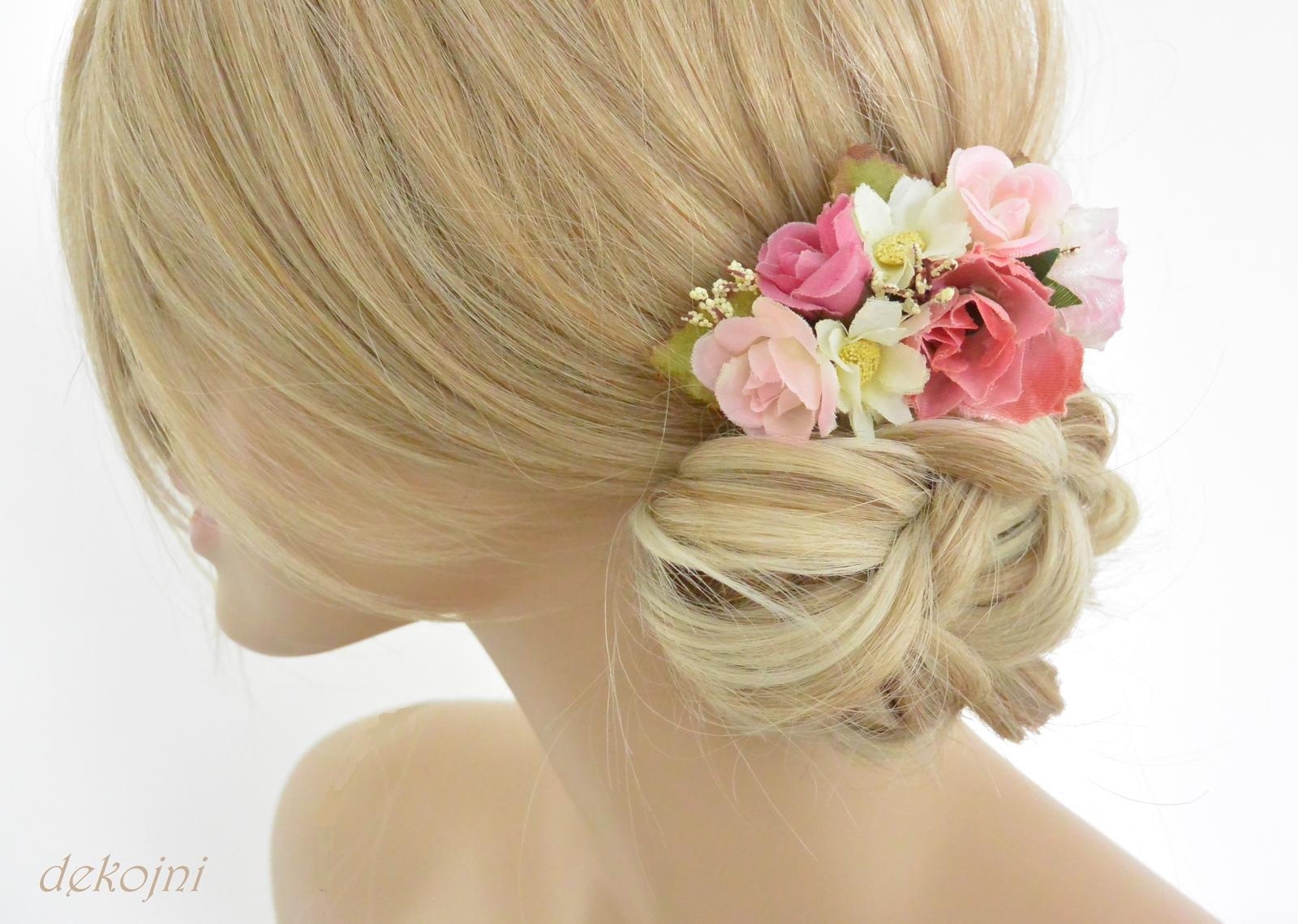 Svatební hřebínek do vlasů - Obrázek č. 1