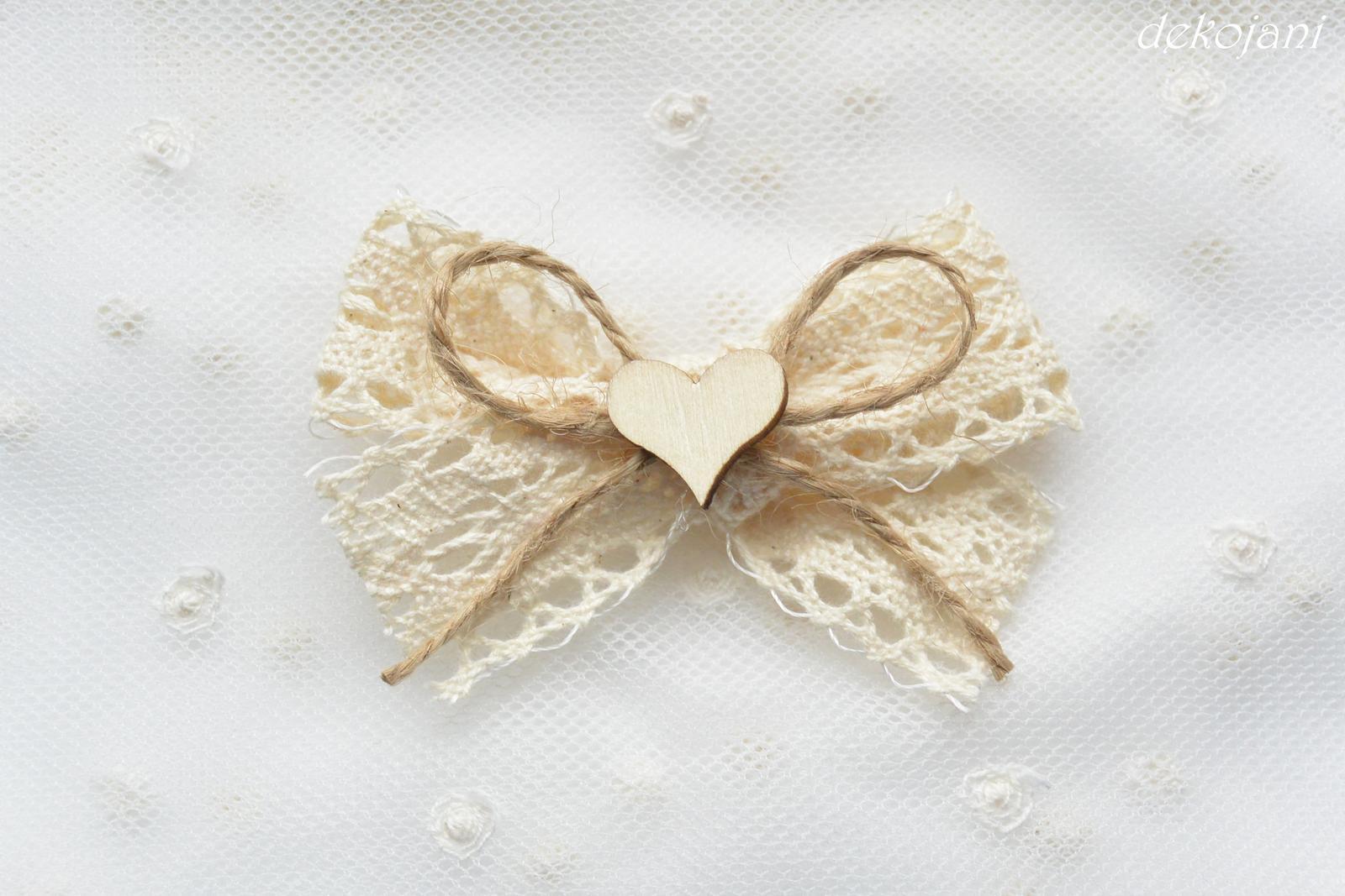 Svatební krajkové vývazky - Obrázek č. 1
