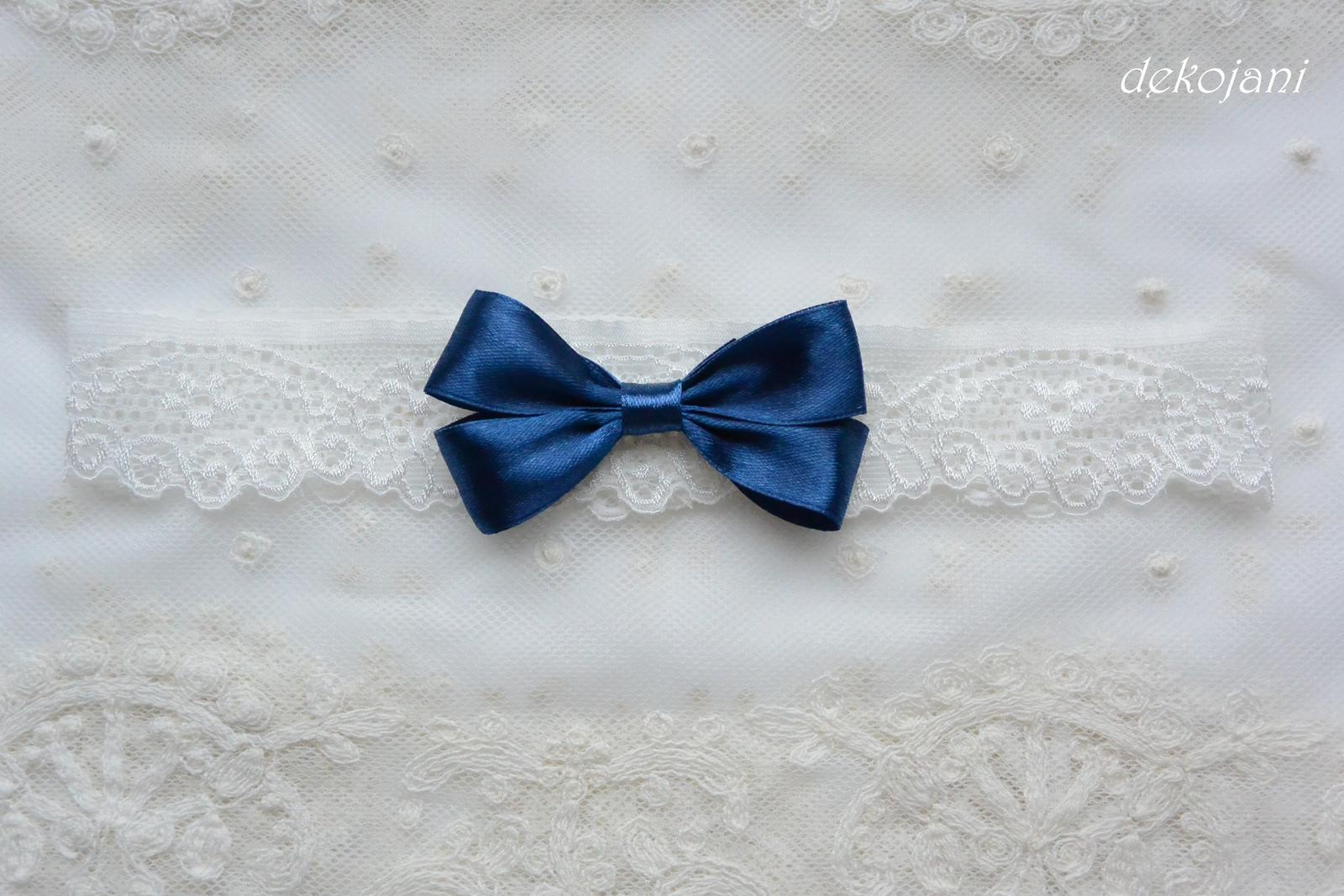 Podvazek námořnicky modrý - Obrázek č. 2